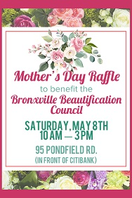 Bronxville Beautification Council Mother's Day, up May 4, 2021