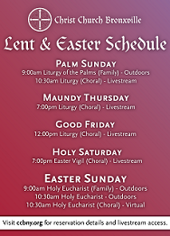 Christ Church Easter 2021 - up March 24, 2021