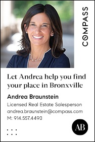 Compass - Braunstein, Brand ad featuring her face, up April 26, 2021