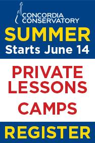 Concordia Conservatory Summer Camp 2021
