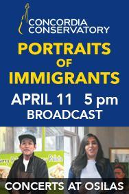 Concordia - immigrants, up March 23, 2021
