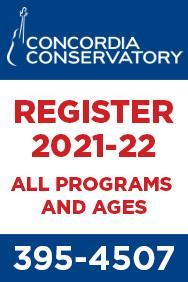 Concordia Conservatory 2021 - up Aug 27, 2021
